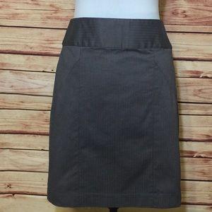 Banana Republic Charcoal Gray Pencil Skirt